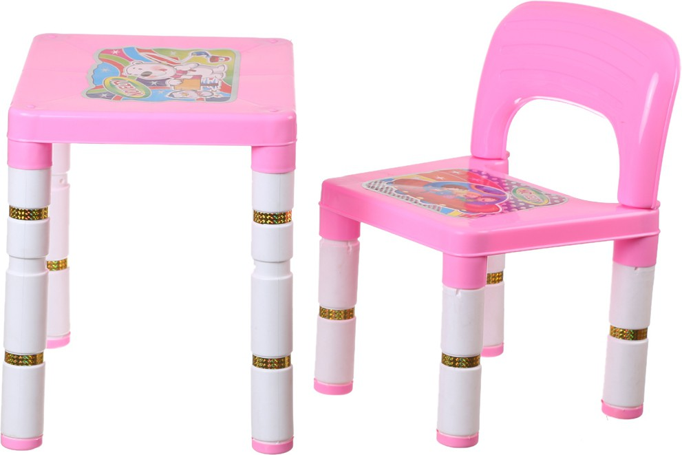 View NHR Plastic Desk Chair(Finish Color - Pink) Furniture (NHR)