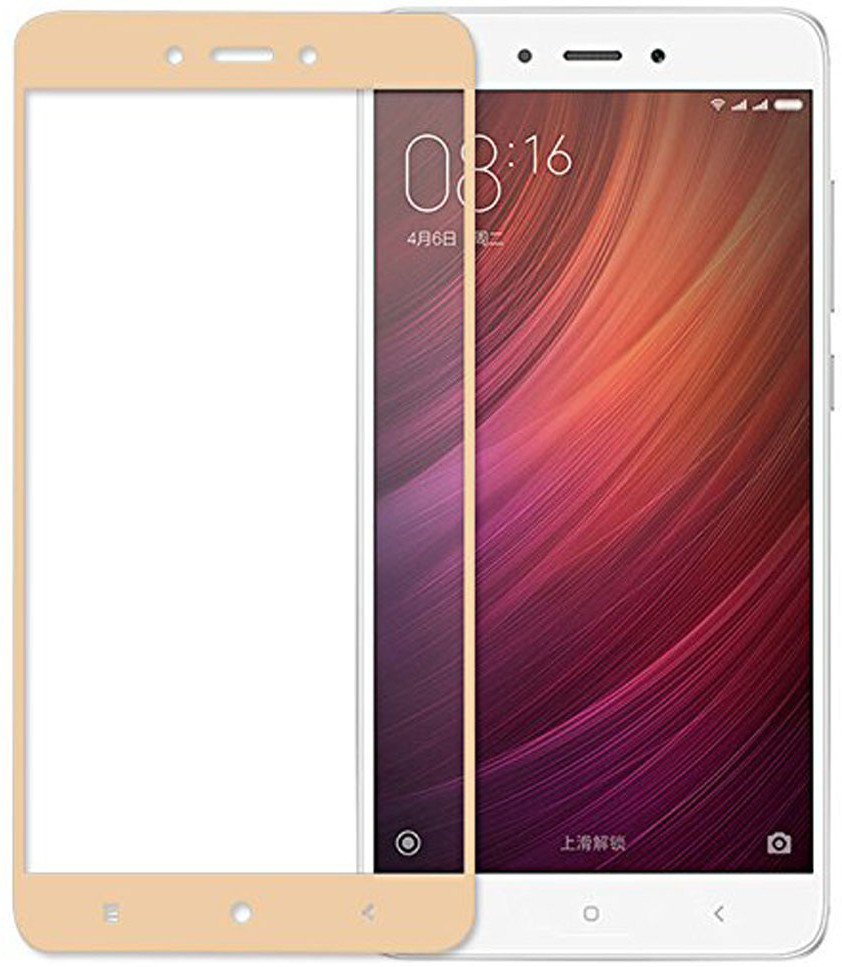 Hupshy Tempered Glass Guard for Mi Redmi Note 4