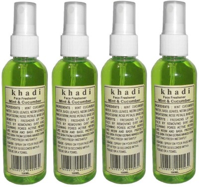 Khadi herbal Mint & Cucumber Face Freshener(400 ml)