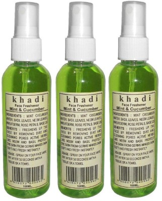 Khadi herbal Mint & Cucumber Face Freshener(30 ml)
