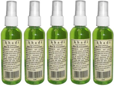 Khadi herbal Mint & Cucumber Face Freshener(500 ml)