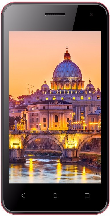 View Ziox Astra NXT Plus (Black & Red, 4 GB)(512 MB RAM) Mobile Price Online(Ziox)