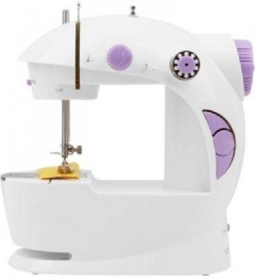 Benison India Imported 4 in 1 Mini Electric Sewing (Silai) Machine with Foot Pedal & Adapter, Portable & Compact Machine Electric Sewing Machine( Built-in Stitches 45)