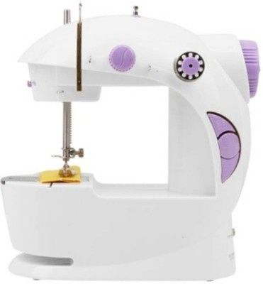 Benison India Mini 4 in 1, Foot Pedal & Adapter, Portable Electric Sewing Machine( Built-in Stitches 45)