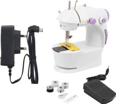 Benison India World 4-In-1 Powerstitch Portable Electric Sewing Machine( Built-in Stitches 45)