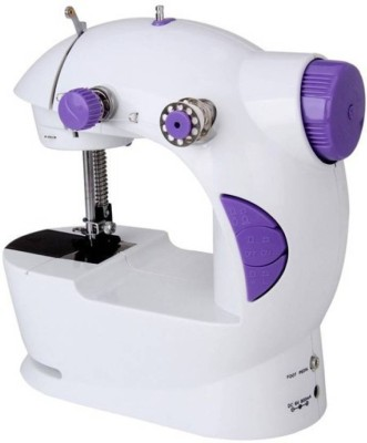 Benison India Portable 4 In 1 with Foot Pedal - S201 Electric Sewing Machine( Built-in Stitches 45)