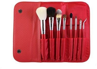 Morphe Brushes Morphe Candy Apple Red Makeup Brush Set (set 700)(Pack of 8)