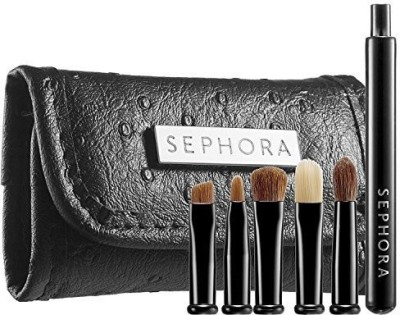 Sephora Collection Look Smart Travel Eye Brush Set(Pack of 5)