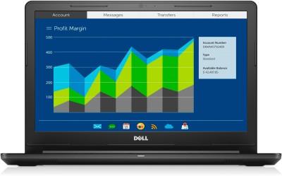 Dell Vostro 3000 Core i5 7th Gen - (8 GB/1 TB HDD/Linux/2 GB Graphics) 3568 Notebook(15.6 inch, Black)