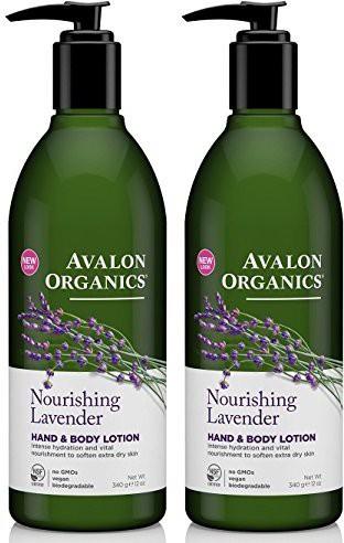Avalon Organics Hand & Body Lotion - Lavender - 2 Pk(340 g)