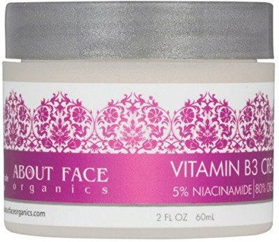 About Face Organics Vitamin B3 Cream 5% Niacinamide(60 ml)