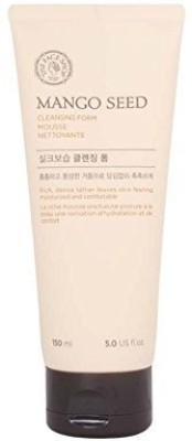 The Face Shop Mango Seed Silk Moisturizing Cleansing Foam(150 ml)