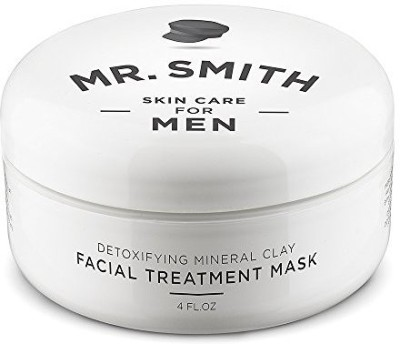Mr. Smith Mr Smith Co Clay Face Mask For Men Ageless Facial Treatment For Acne, Blackhead And Scar Removal(113.36 g)