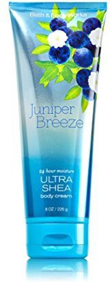 Bath & Body Works Juniper Breeze Body Cream Bottle(226 g)