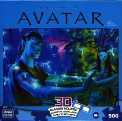 20Th Century Fox Avatar: All Life Is Connected 500 Piece Puzzle(500 Pieces)