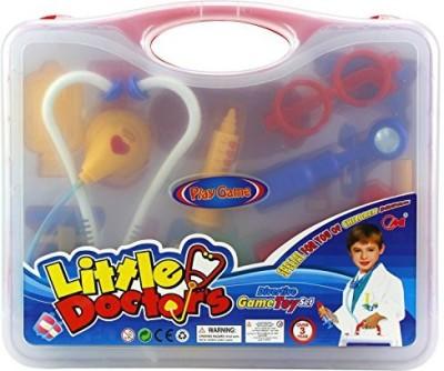 Velocity Toys Doctors Case Pretend Play Childrens Kids Toy Medical Nurse Kit Playset by Velocity Toys