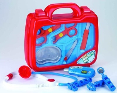 Castle Toy Play Medical Kit: 11-Pc Play Doctor Set for Children