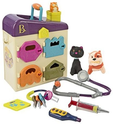 B. Toys Pet Vet Clinic. Become a Veterinarian and Play Pet Doctor In Your Very Own Animal Hospital