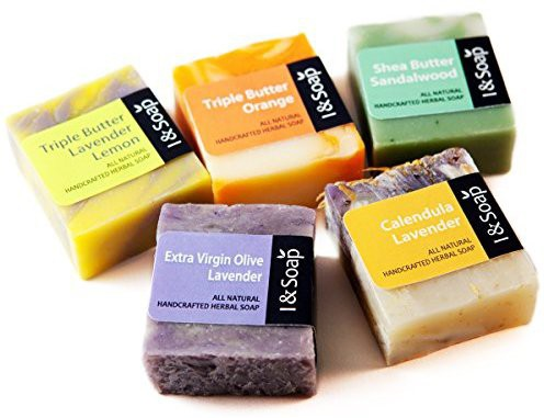I & Soap 5pcs Mini Sampler Set(113.36 g, Pack of 5)