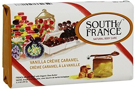 South of France Vanilla Creme Caramel Bar Soap- 1 Each(99.19 g)