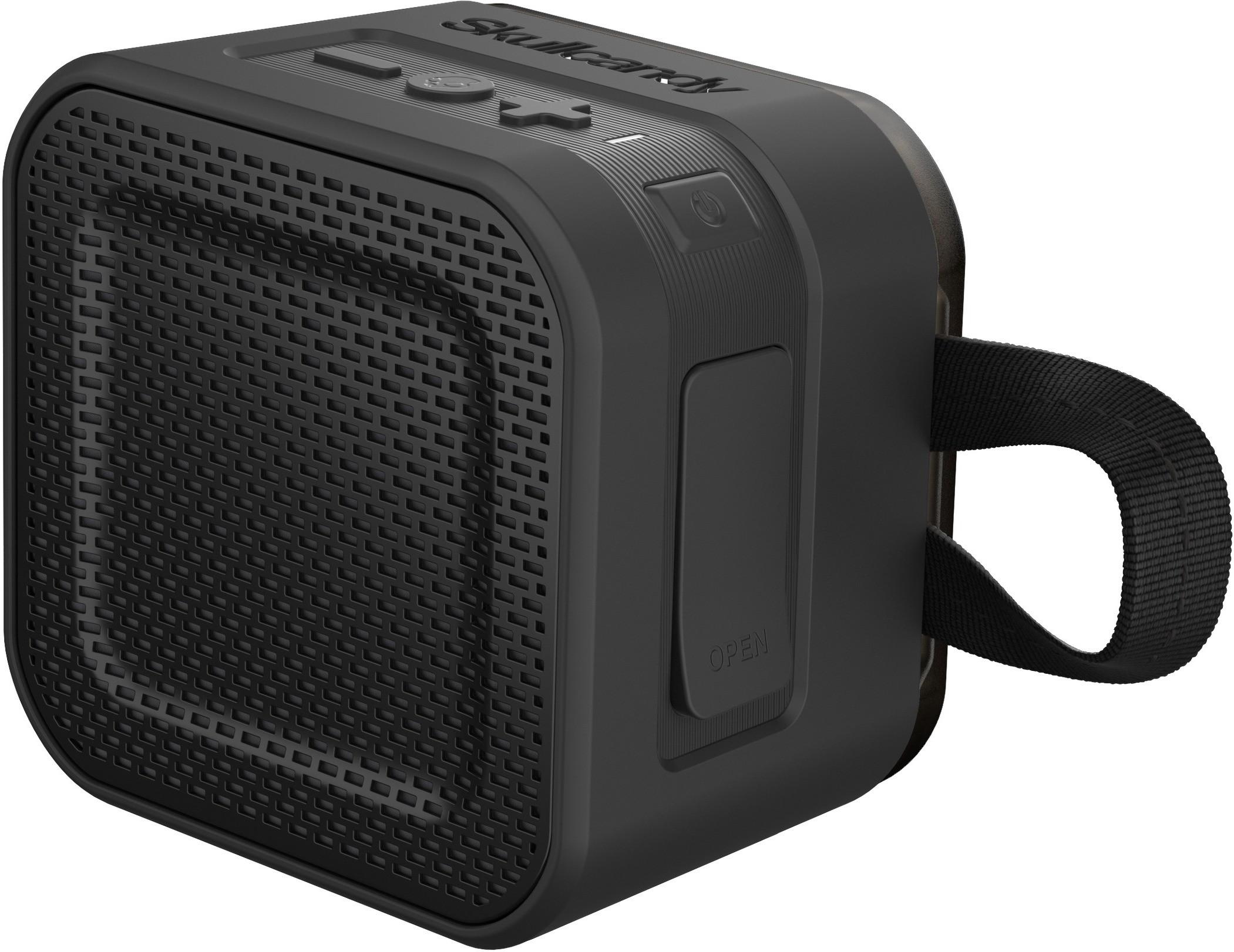 Skullcandy S7PBW-J582 Barricade Mini Portable Bluetooth Mobile/Tablet Speaker(Black, 1.0 Channel)