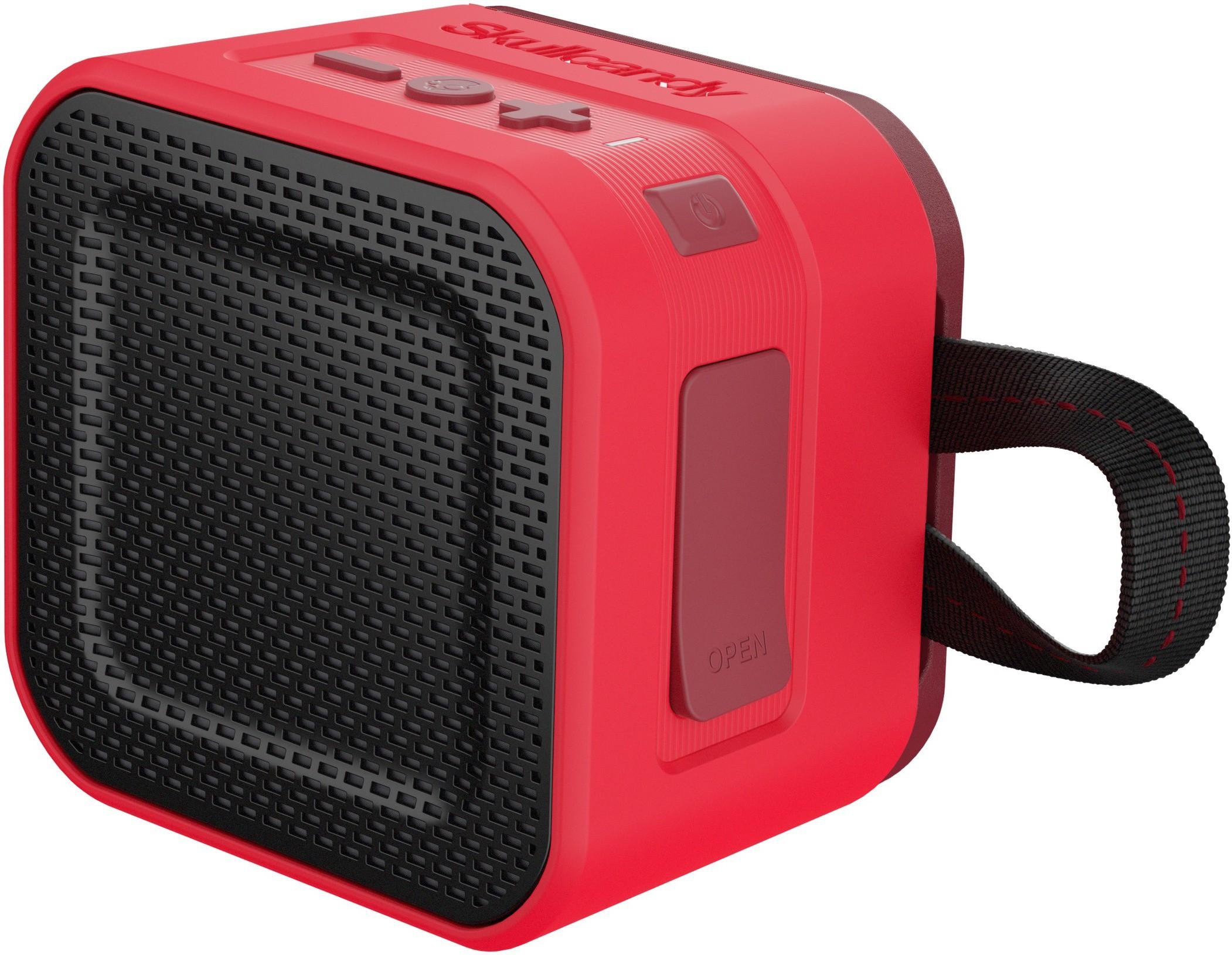 Skullcandy S7PBW-J584 Barricade Mini Portable Bluetooth Mobile/Tablet Speaker(Red Black, 1.0 Channel)