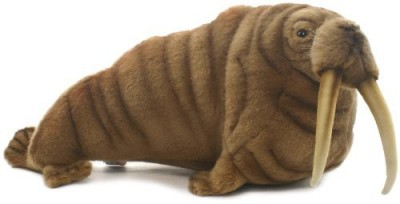 Hansa Walrus Plush - 7.09 inch(Multicolor)