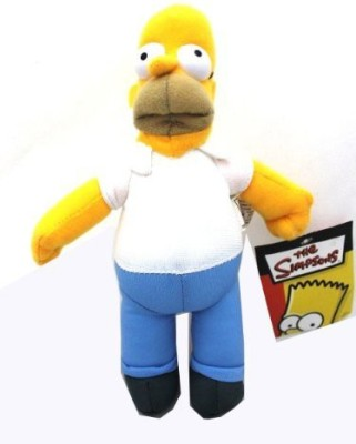 20th Century Fox 10In Tall Homer Simpson Plush - Small Plush Characters - 10 inch(Multicolor)