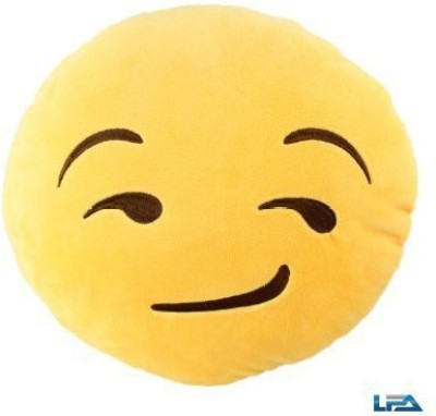 2mbdesign Emoji 32Cm Silly Smiley Pillows Emoticon Round Cushion Pillow Stuffed Plush Soft Toy-Baby Face - 0.7 inch(Yellow)