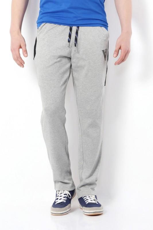 Van Heusen Solid Men's Grey Track Pants