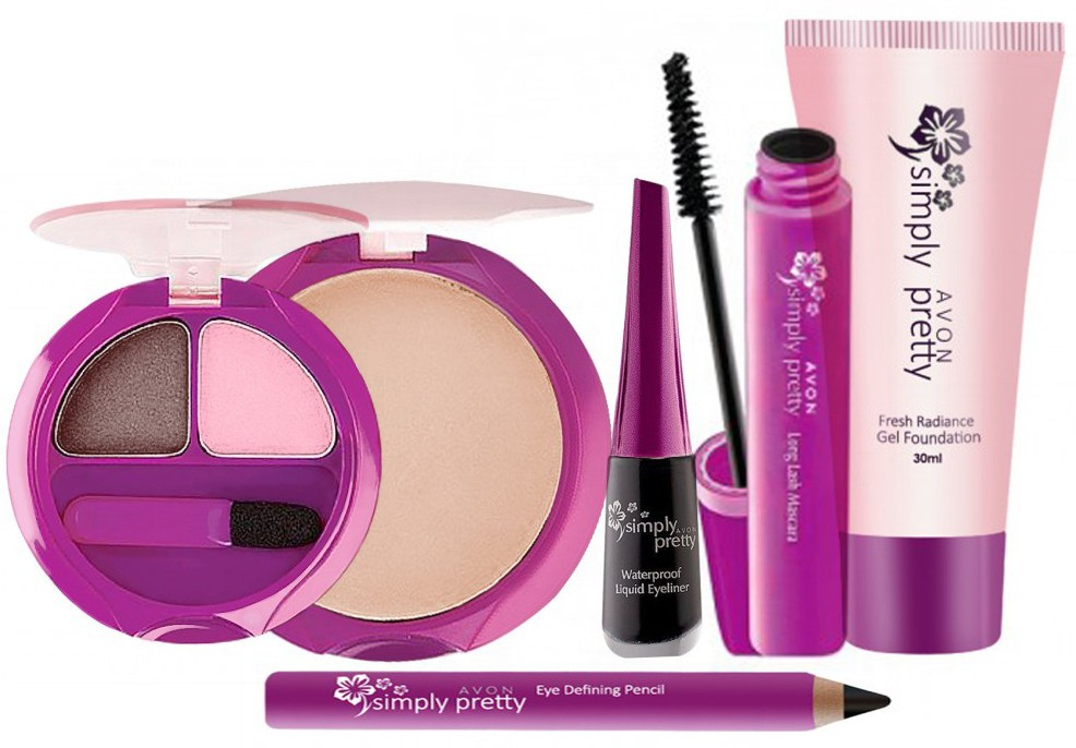 Avon Anew Simply Pretty Face Makeup Kit (6 pcs)(Set of 6)