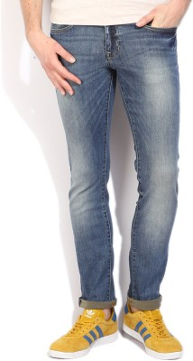 Allen Solly Slim Mens Blue Jeans