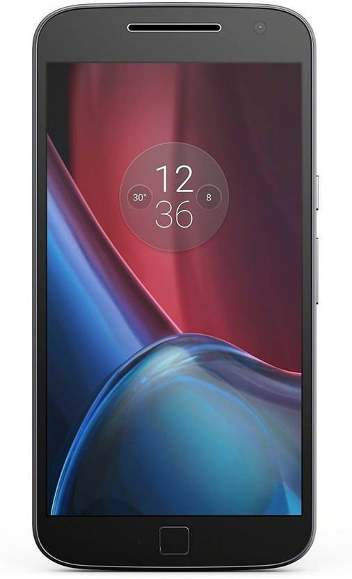 View Moto G4 Plus (Black, 16 GB)(2 GB RAM) Mobile Price Online(Motorola)