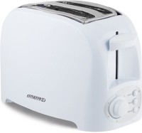CONCORD 2 Slice 750 W Pop Up Toaster(White)