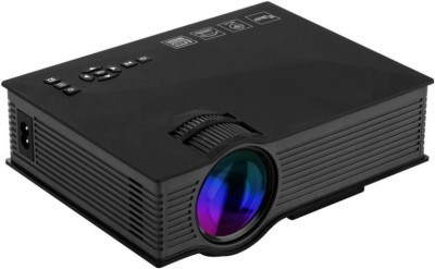 Brand New UC46 1200 lm LED Corded Portable Projector(Black)