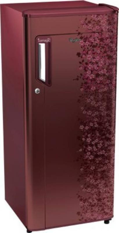 Whirlpool 190 L Direct Cool Single Door Refrigerator(205 IM POWERCOOL PRM 3S, Wine Exotica, 2017)