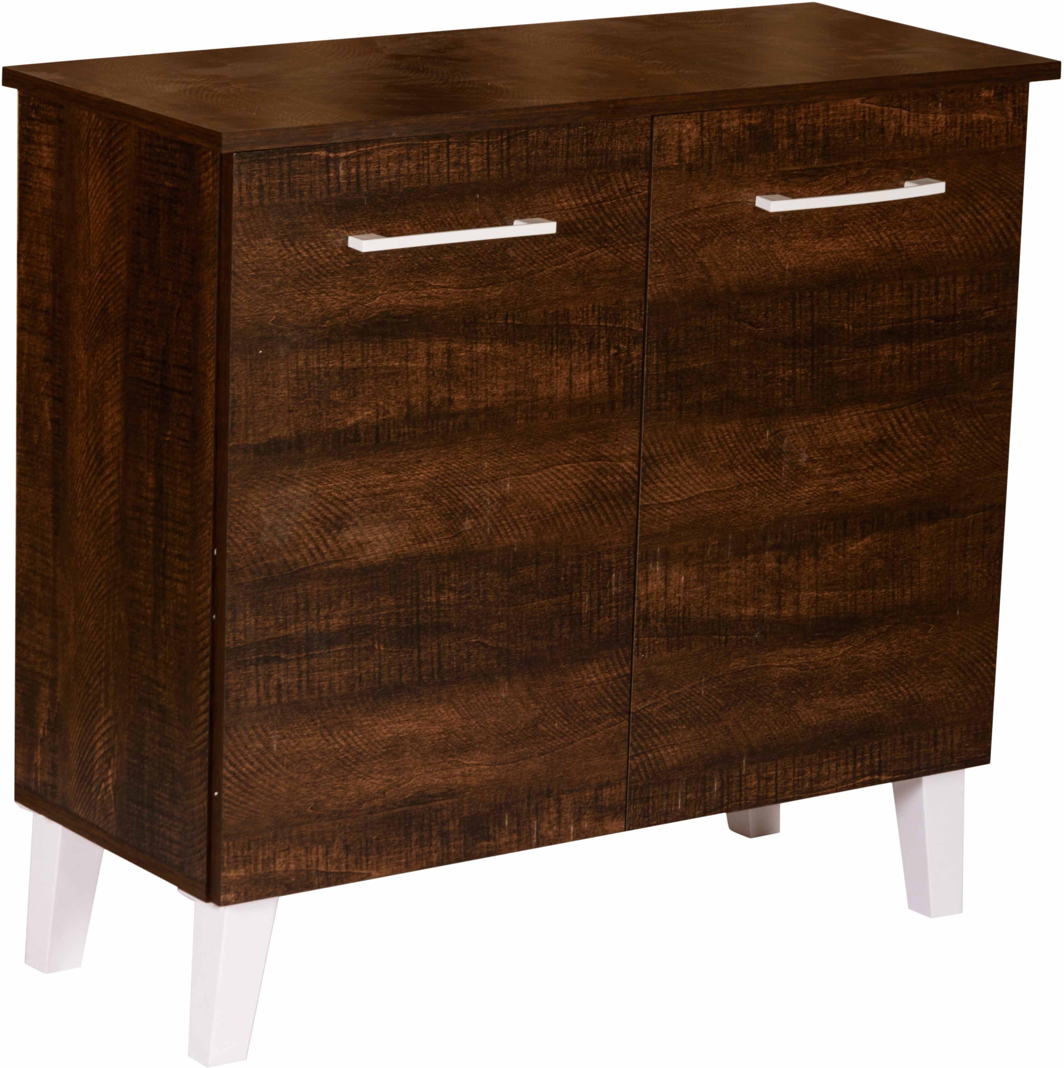 View DeckUp Engineered Wood Shoe Cabinet(Brown, 3 Shelves) Furniture (DeckUp)