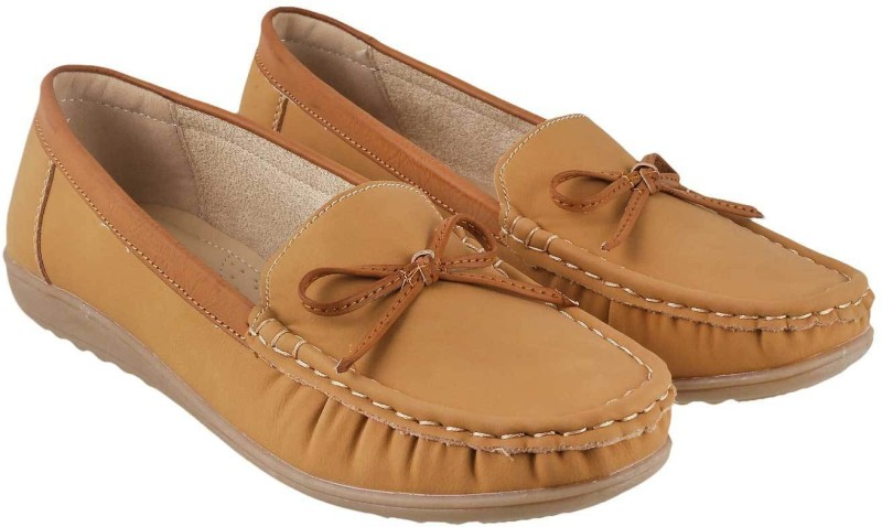 Lemon & Pepper Stylish Loafers(Beige)
