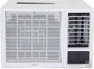 Hitachi 1.5 Ton 3 Star Window AC - White(RAW318KXDAI, Copper Condenser)