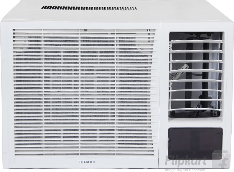 Hitachi 1 5 ton 3 star window ac white raw318kxdai for 1 5 ton window ac price in delhi