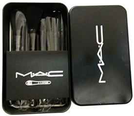 M.A.C Cosmetic Makeup Brush Set with Storage Box(Pack of 12)