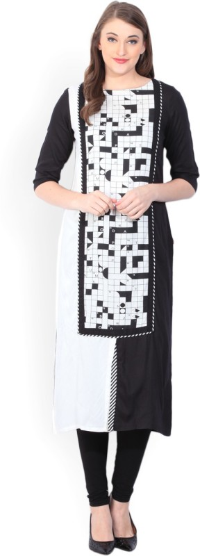 W Printed Women's Straight Kurta