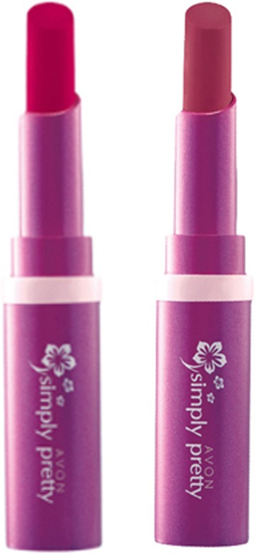 Avon Anew Color Last Lipsick (set of 2 ) -(4 g, (scarlet - luscious cherry))