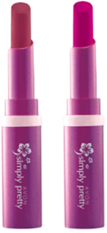 Avon Anew Color Last Lipsick (set of 2 ) -(4 g, (sweet strawberry - plum berry))