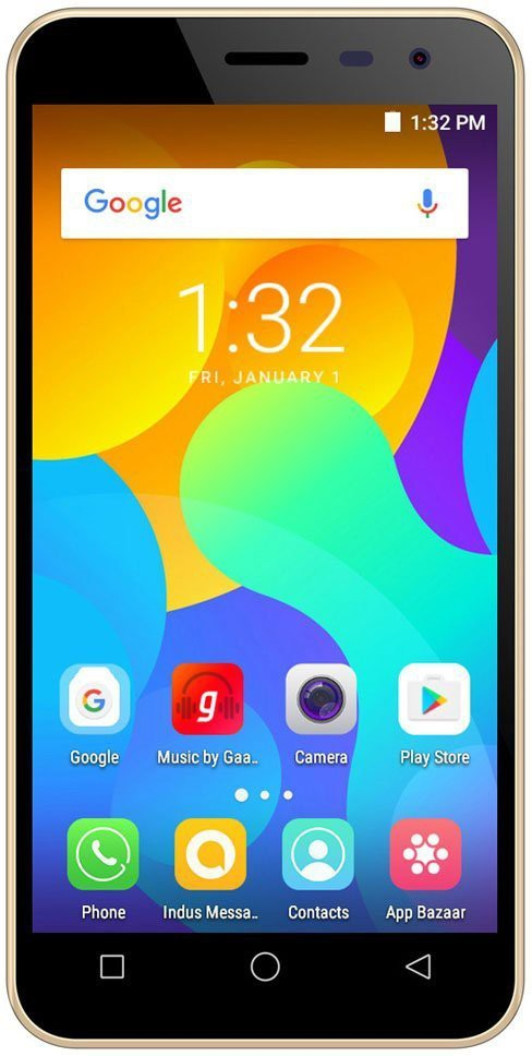 View Micromax Spark Vdeo (Champagne, 8 GB)(1 GB RAM) Mobile Price Online(Micromax)