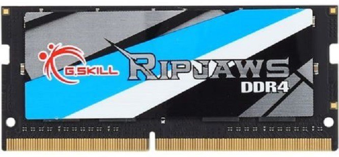 G.SKILL Ripjaws DDR4 SO-DIMM DDR4 8 GB (Single Channel) Laptop (F4-2400C16S-8GRS)(Black)