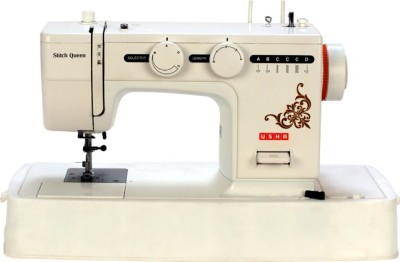 Usha Stitch Queen with Motor Electric Sewing Machine( Built-in Stitches 19)