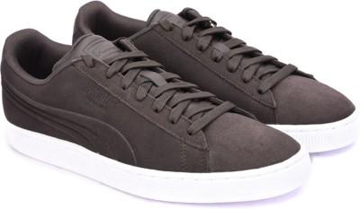 Puma Suede Classic Embossed Sneakers(Brown)