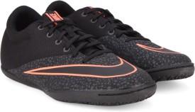 Nike MERCURIAL X PRO IC Football Shoes(Black)