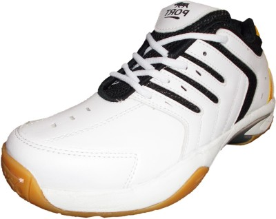 PORT Supark Badminton Shoes(White)